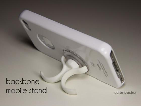Backbone Phone Stand for iPhone and Android Phones