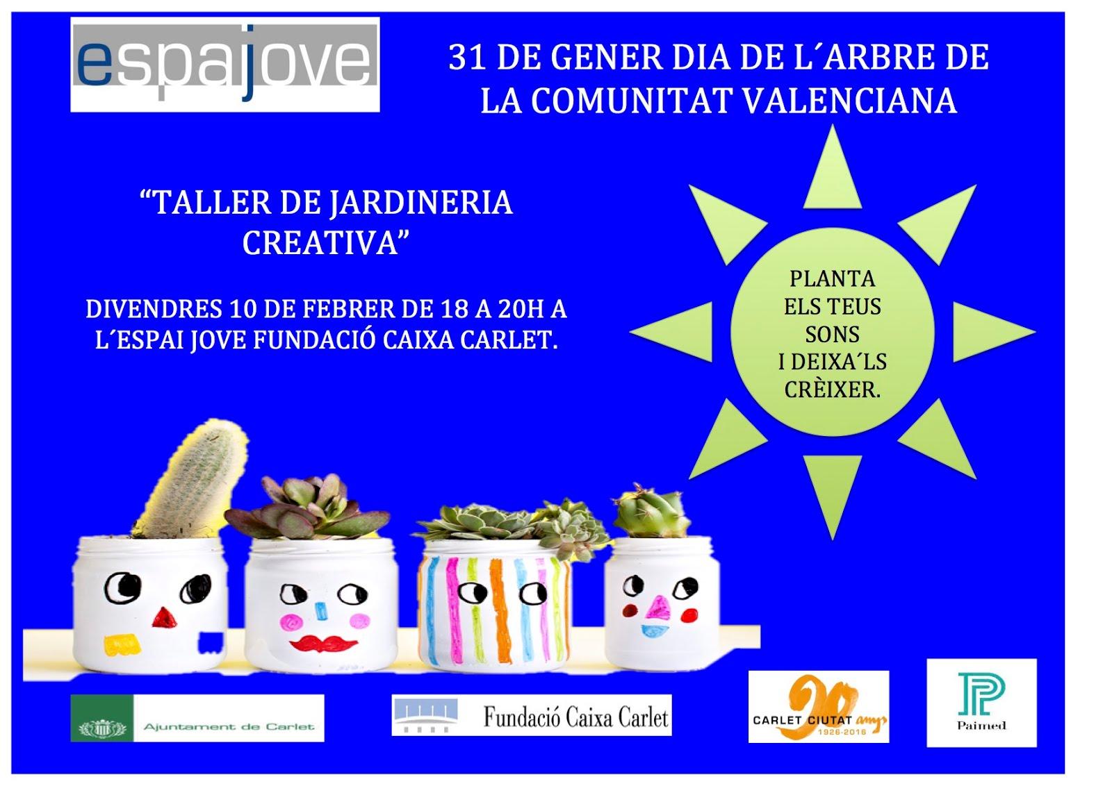 TALLER DE JARDINERIA CREATIVA