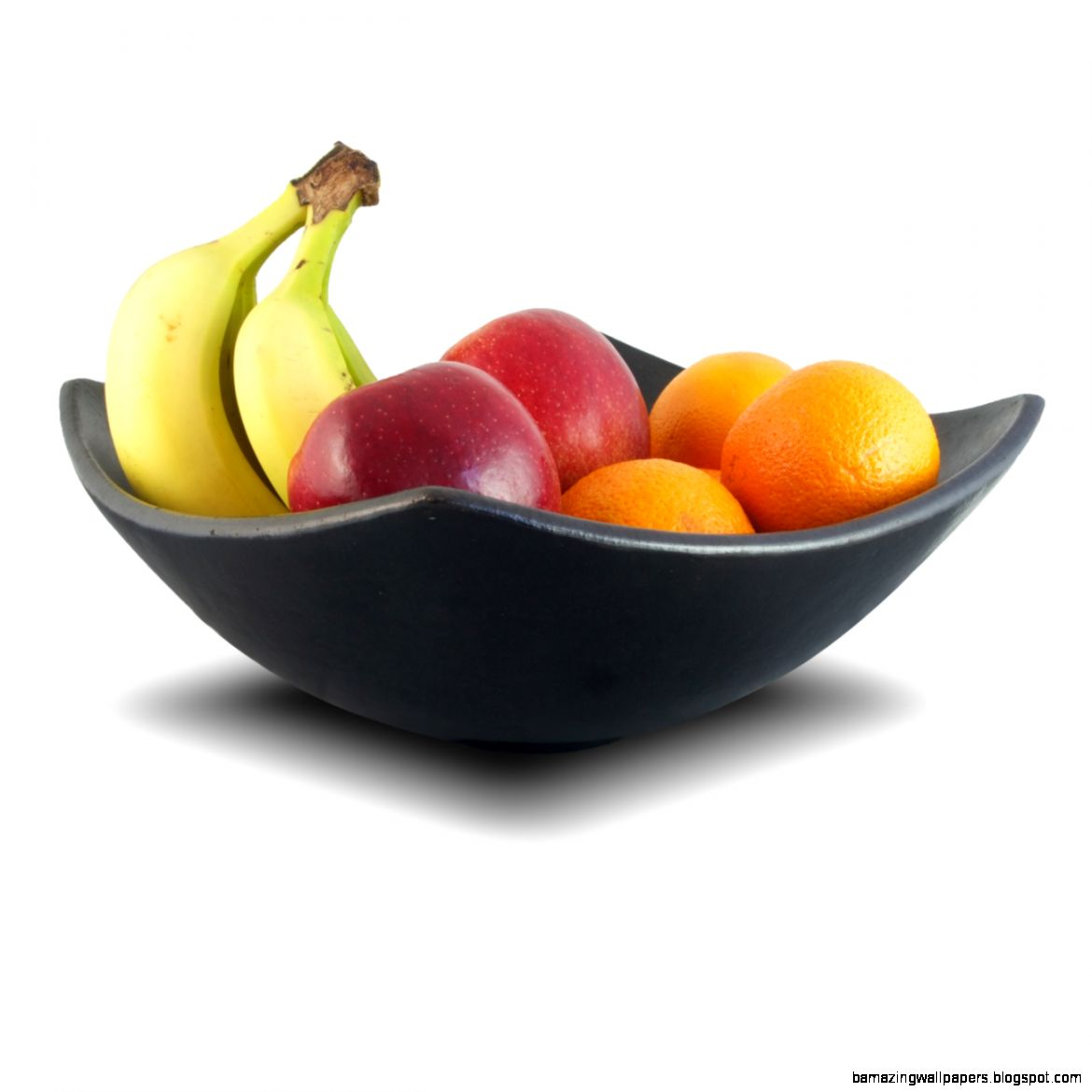 square black fruit bowl