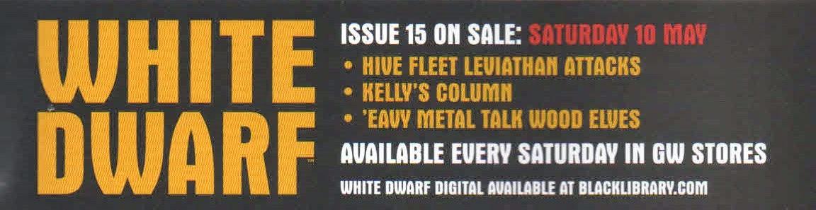 Adelanto del número 15 de la White Dwarf Weekly