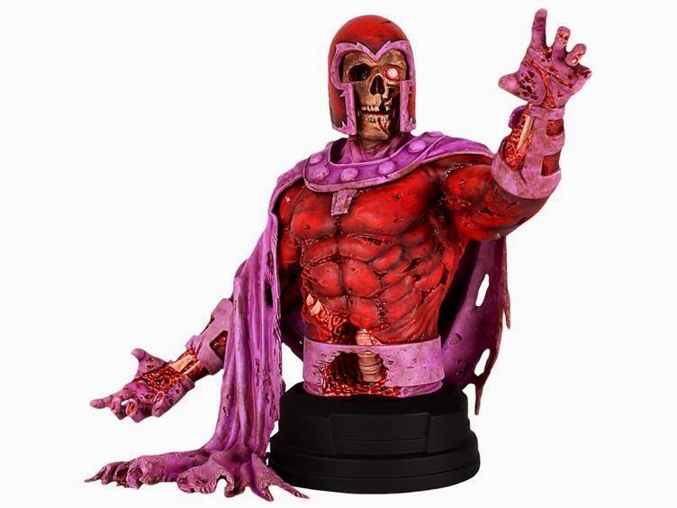 Magneto Zombie Mini Bust