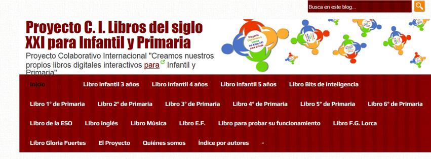 Libros del S XXI para Infantil y Primaria.