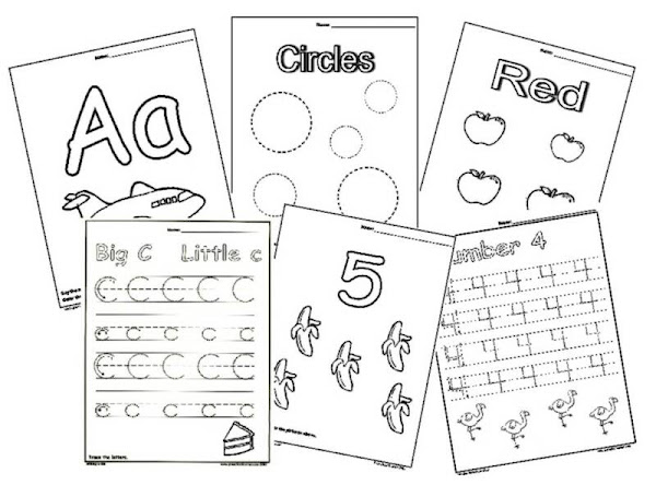 Free Preschool Activity Worksheets