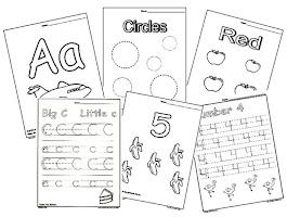 Printable School Worksheets Matching