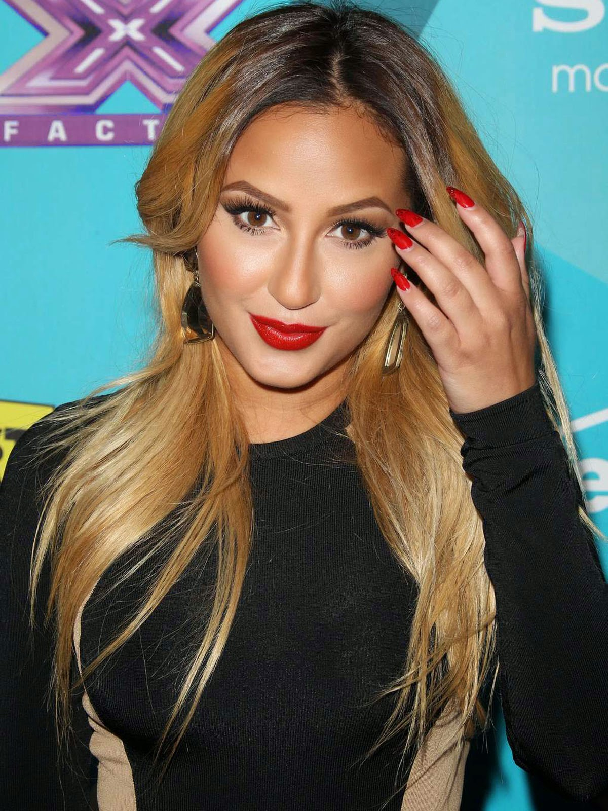 Adrienne Bailon Bubbly Pictures