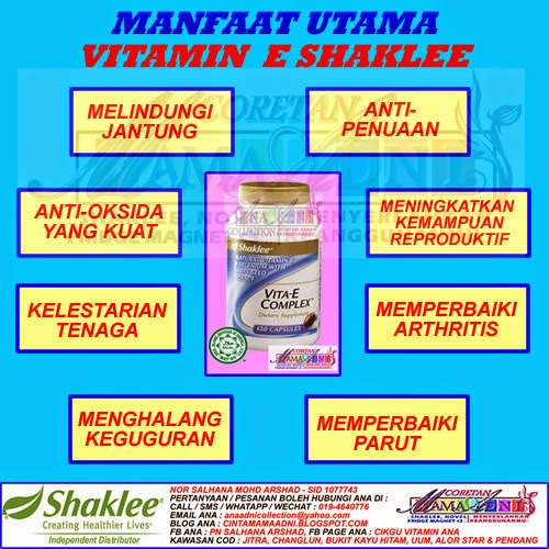 Promo Jun - Vitamin E, Buy 6 FREE 1