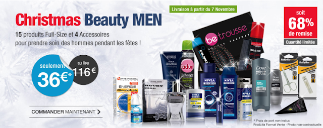 Betrousse Christmas Beauty Men à gagner