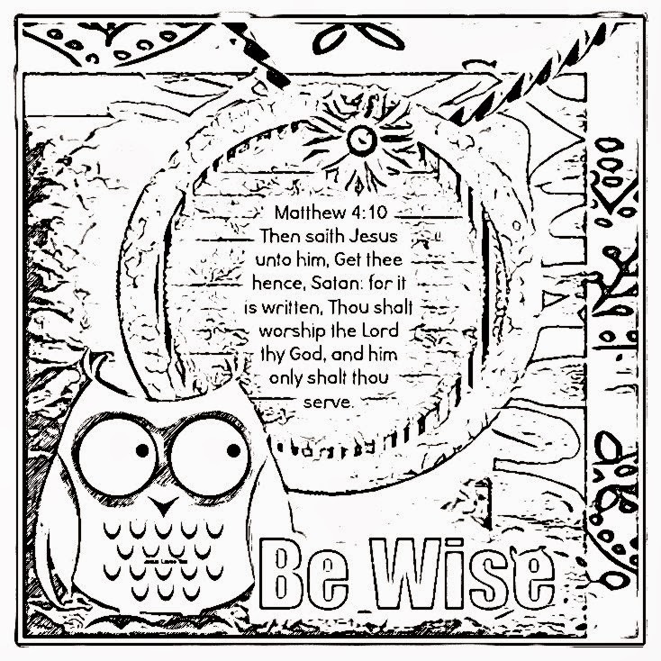 kids coloring pages on wisdom - photo#8