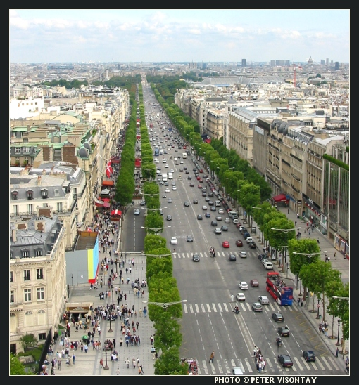 Wonderful place champs elysees in paris france travel review - H m paris champs elysees ...
