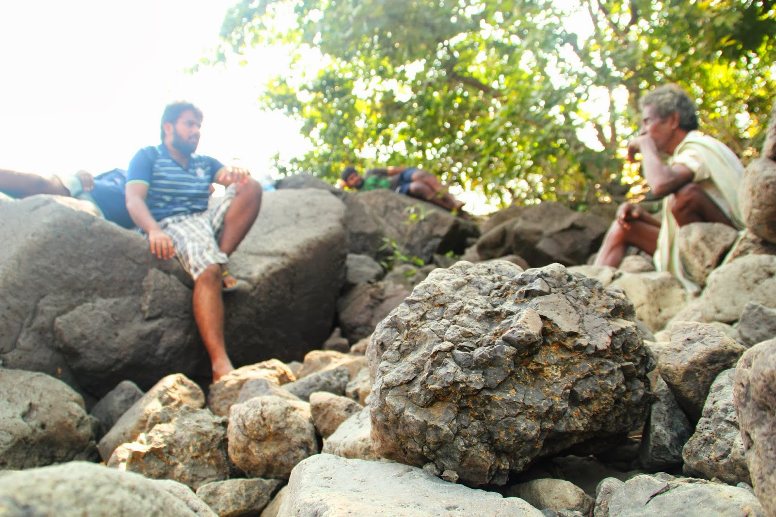 Relax on the Rocks...
