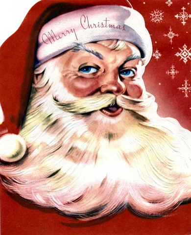 Oh, by the way...: Vintage Santa Claus