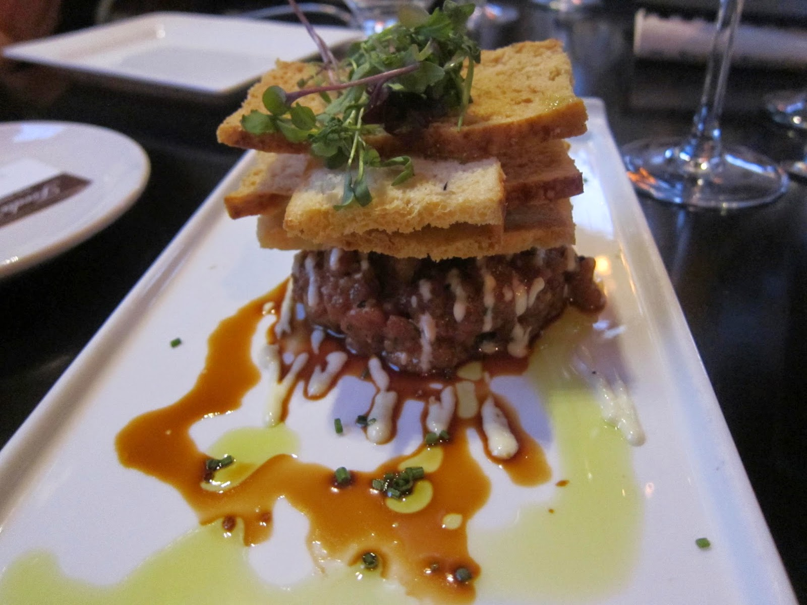 Yellowfin Tuna Tartare at Orta | The Economical Eater