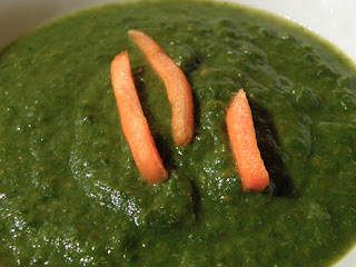 Closeup of Soup