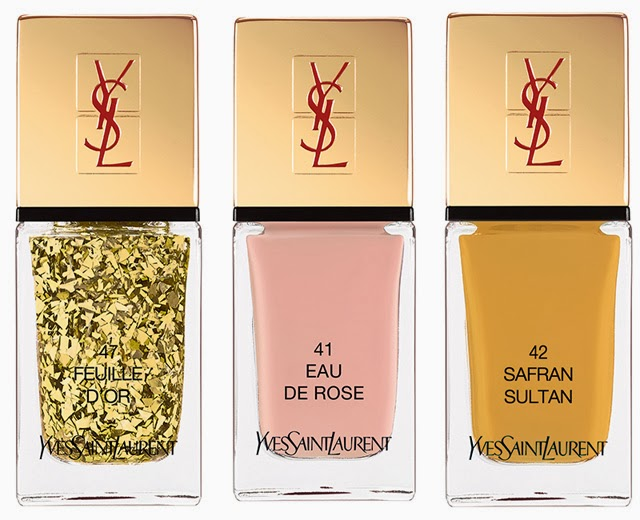 Esmaltes YSL La Laque Couture Spicy Collection