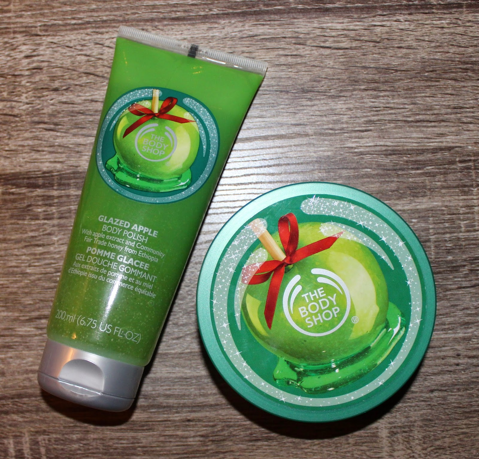 The Body Shop's Glazed Apple scent