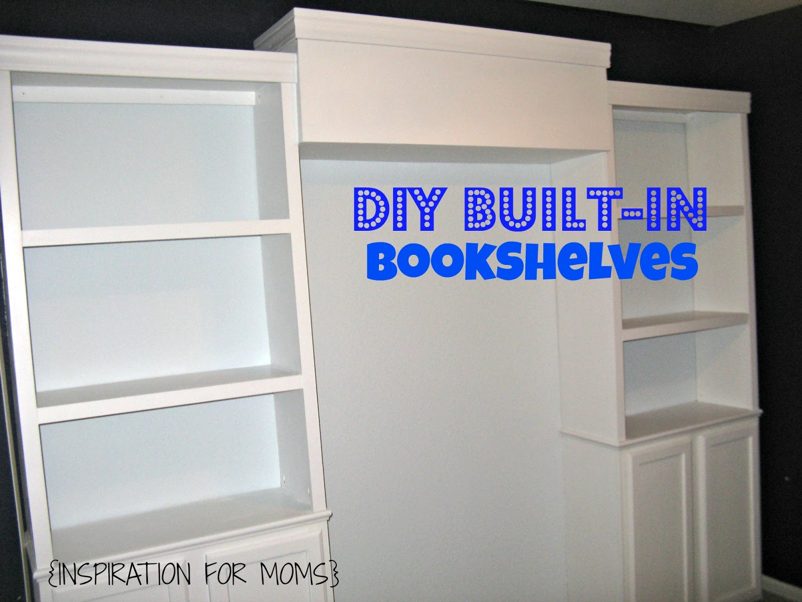 Build Your Own Built in Bookshelf 1600 x 1200