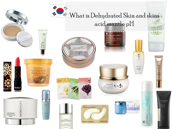 Dry or Dehydrated skin? Skins acid mantle and Asian skin care products...