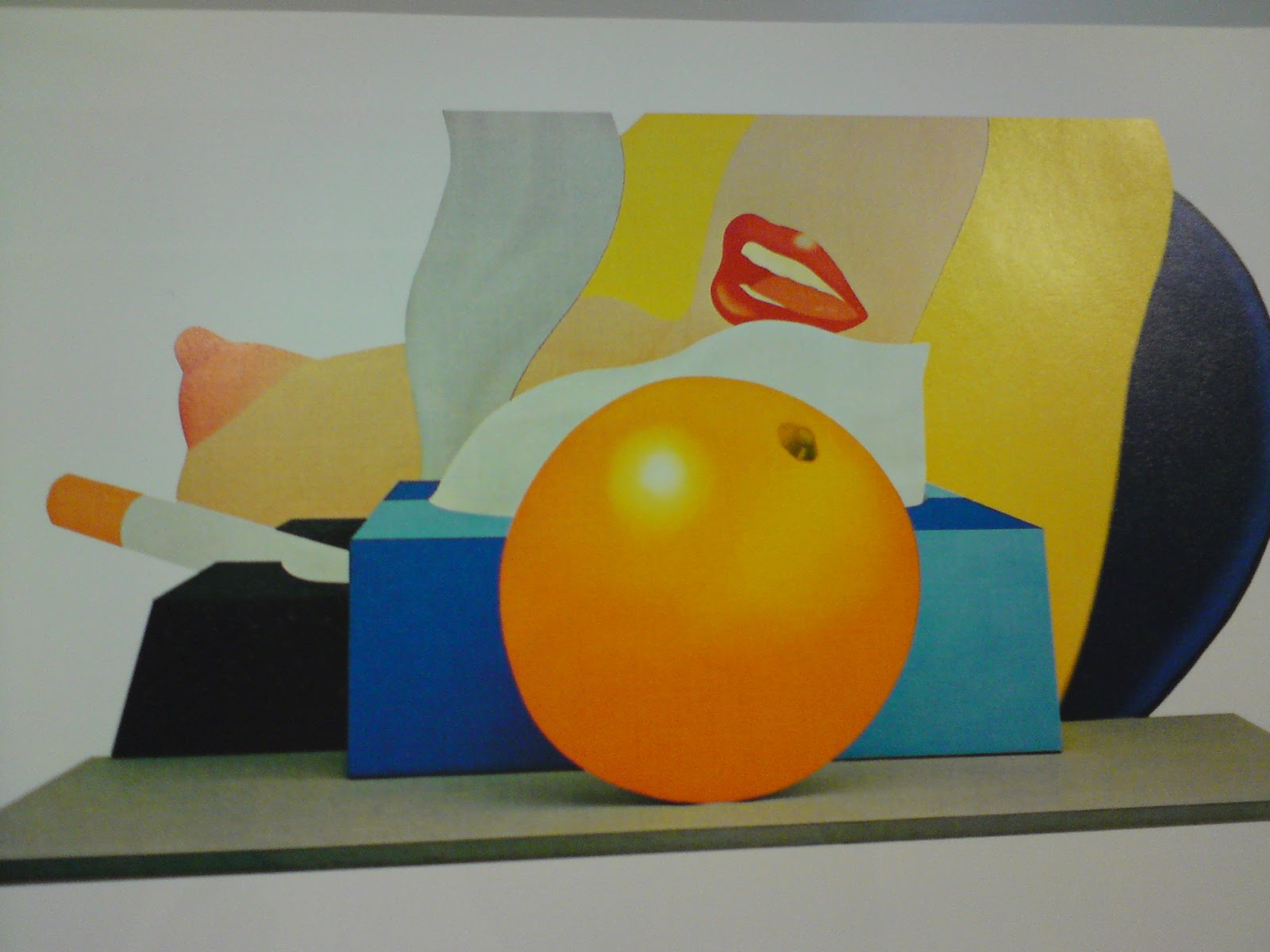 "Tom Wesselmann,""Great American Nude No. 98"" (1967)"