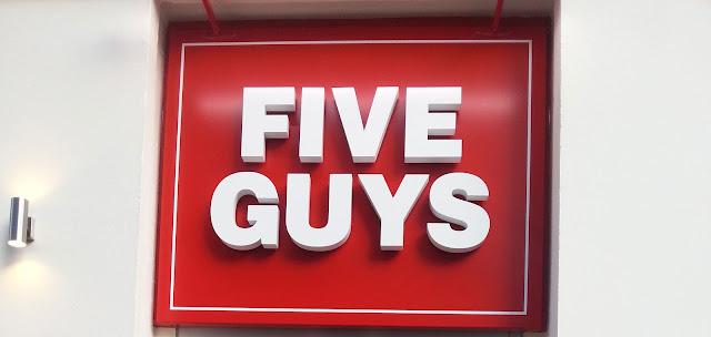 Five Guys Long Acre Covent Garden London