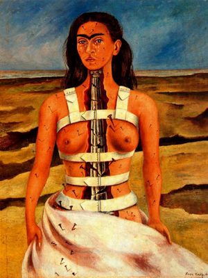 la-columna-rota-autorretrato-frida-kahlo-1944