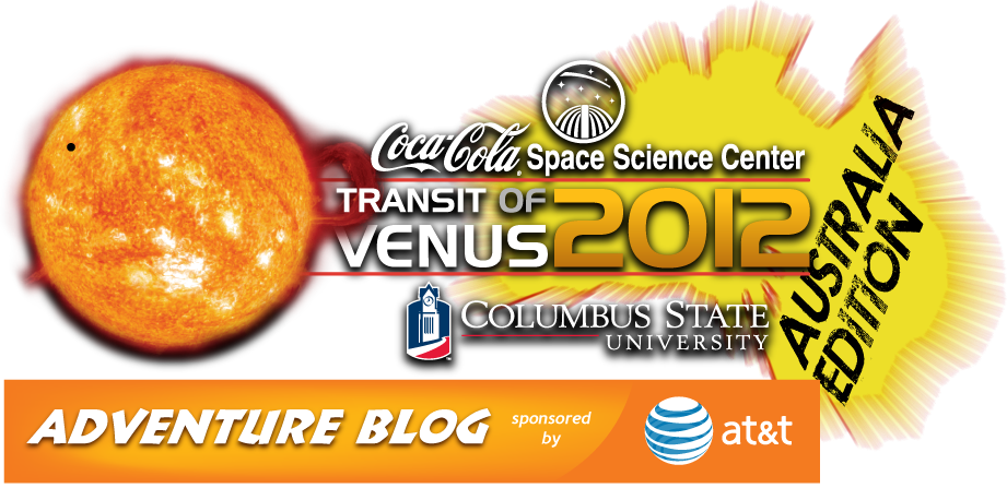 Coca-Cola Space Science Center - Transit of Venus 2012 Australia