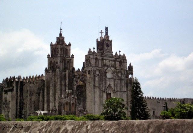 Atlatlahucan convent Morelos Mexico