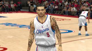 NBA 2K13 Matt Barnes Cyber Face Mod
