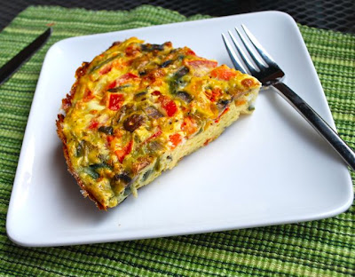 Steam Vegetable Fritata