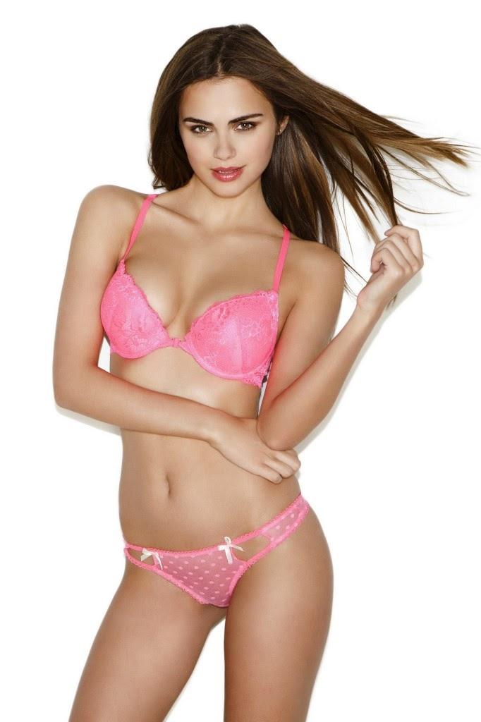 Sexy Xenia Deli in lingerie for Body Central
