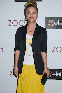 Kaley Cuoco Zooey Magazine Launch Party
