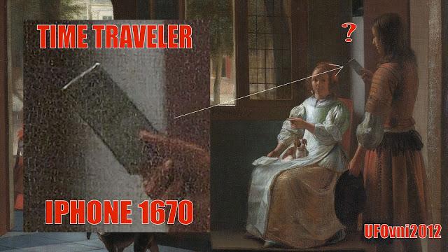Voyageur du temps : IPhone dans une peinture de 1670?