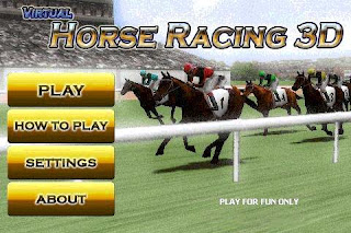 Virtual Horse Racing 3D Android Games Free Download