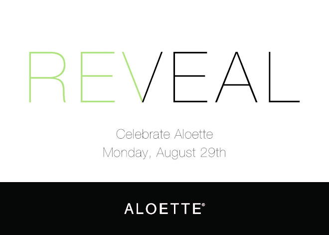 Aloette Cosmetics invites you to the Reveal Beauty Event, Monday, Aug 29, 2016,