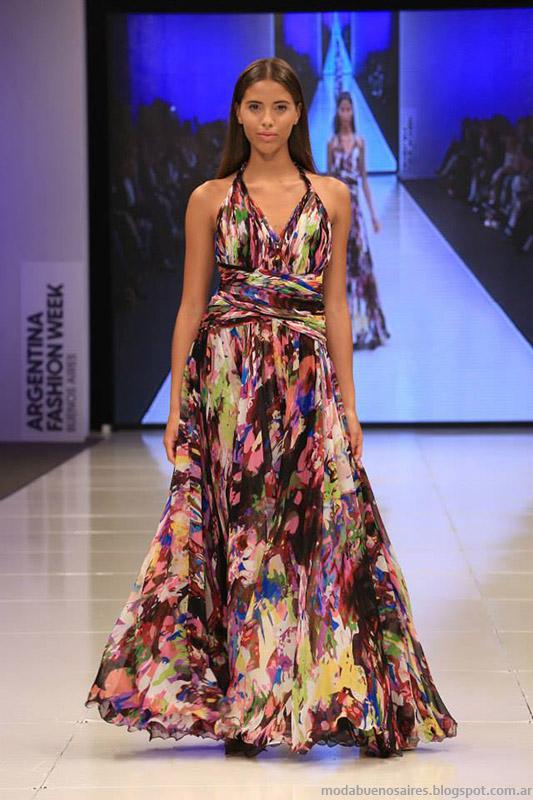 Vestidos estampados 2015. Benito Fernandez primavera verano 2015 moda.