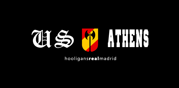 Ultras Sur Athens: HOOLS RMCF (GRAFFITI US ATHENS)