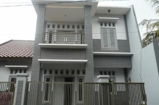 model rumah minimalis bertingkat