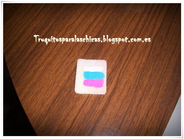 manicura facil con esponja
