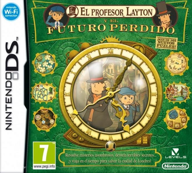 El Profesor Layton y El Futuro Perdido nds rom game español