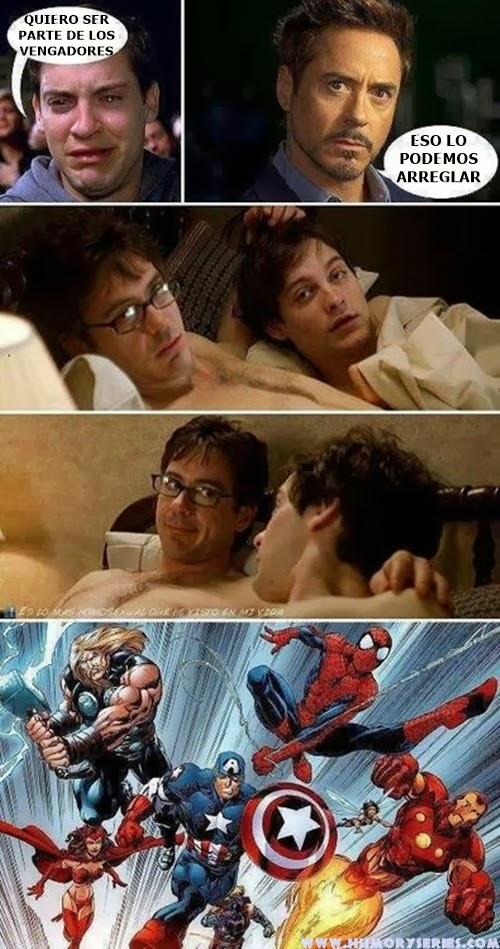 Spiderman en Los Vengadores