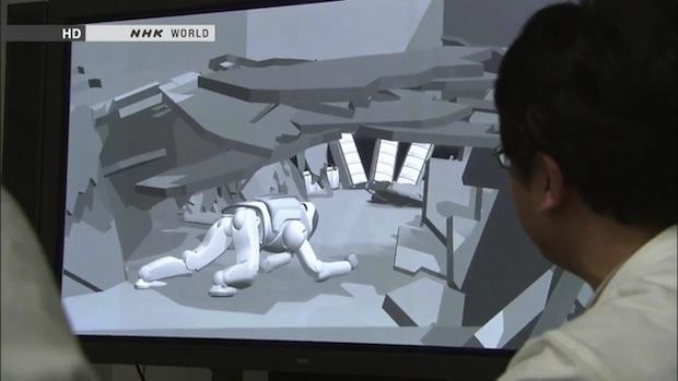 Honda disaster robot