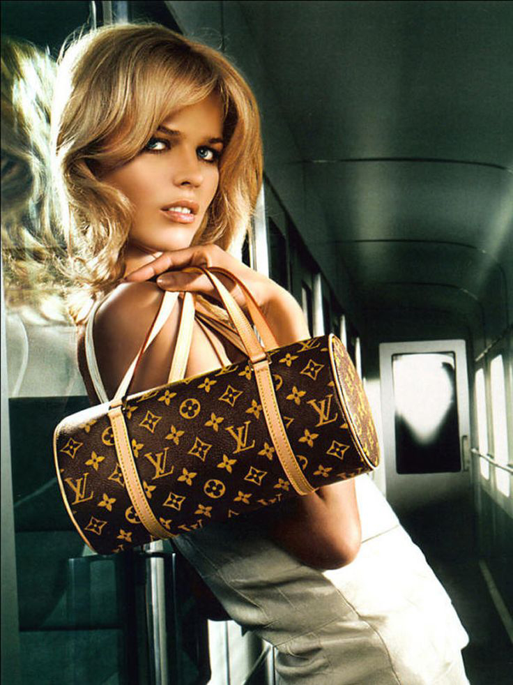 Eva Herzigova photographed by Mert & Marcus for Louis Vuitton Fall/Winter 2002 campaign via fashioned by love british fashion blog