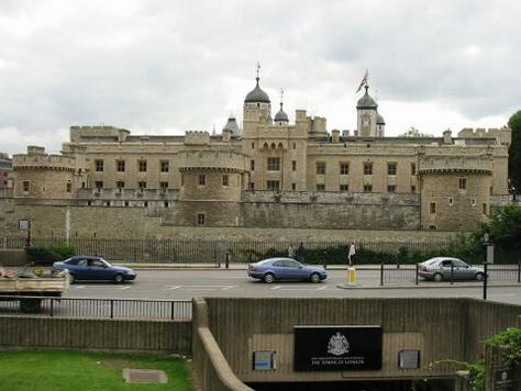 London Tower palace cum prison