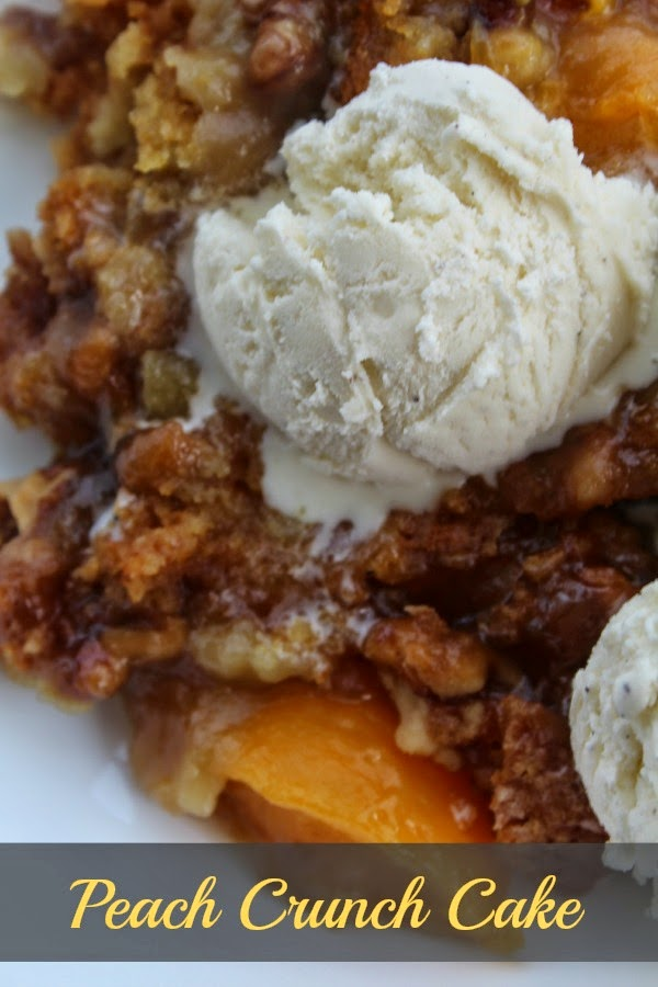 Peach Crunch Cake Recipe