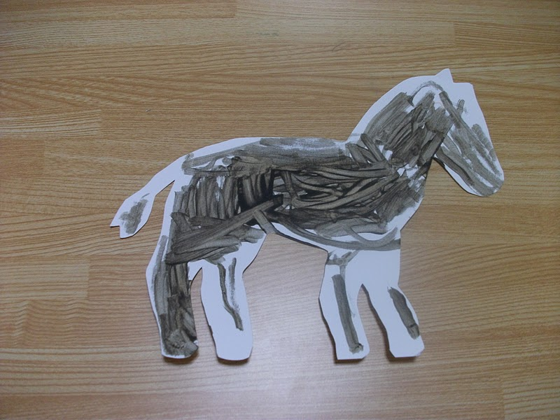 Preschool Horse Craft