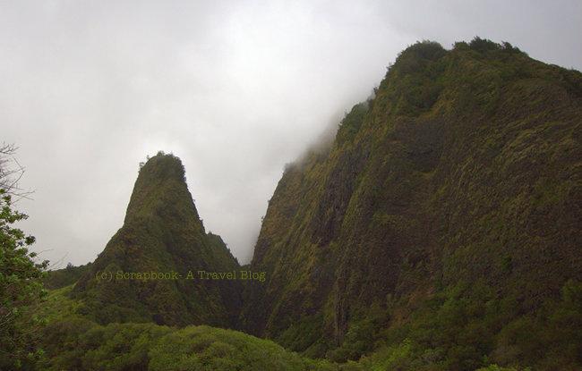 Hawaii Maui Iao Valley Needle