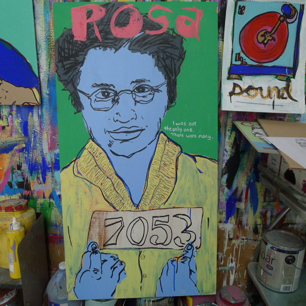 Rosa by Tim Kerr - Your Town, Our Town, Your Name Here...