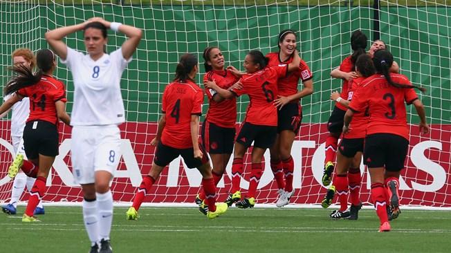 Copa Mundial Femenina Sub-20 Canadá 2014 - Fase de Grupos: Inglaterra vs. México | Ximinia