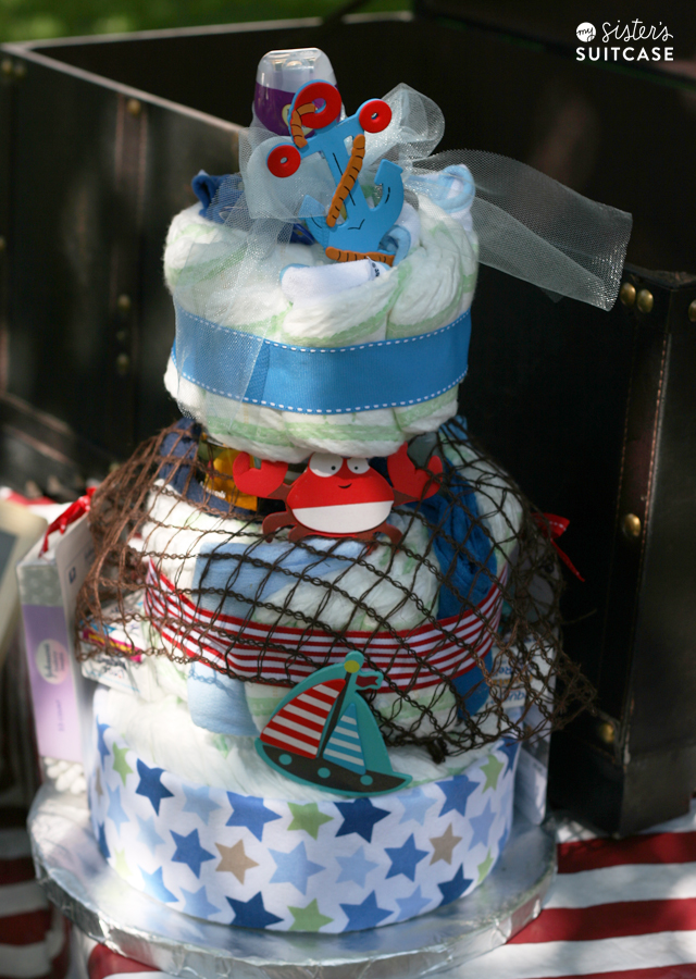 And Last, But Definitely Not Least, The Show Stopper Of The Shower Was This  Cake! Isnu0027t It Fabulous? It Was Made By Verleen Clark, A Friend Of The  Family ...