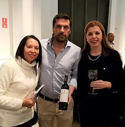Momento com Tomás Roquette - produtor da Quinta do Crasto em evento Importadora Qualimpor