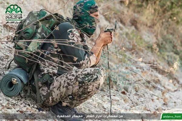 Sekolah Artileri Mujahidin Ahrar Syam